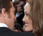 Brad Pitt e Angelina Jolie  na apresentação de «Inglourious Basterds» na 62ª edição do festival de  Cannes