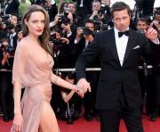 Angelina Jole e Brad Pitt em Cannes