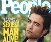 Robert Pattinson posa para a revista «People»
