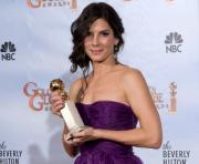 Sandra Bullock Globos de  Ouro 2010 - (fotos: Lusa)