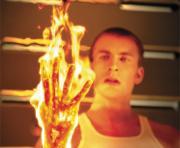 Tocha humana (Chris Evans)